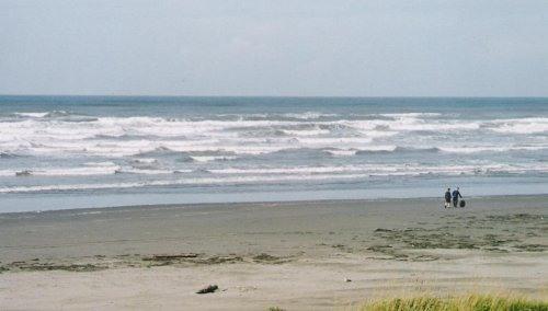 Ocean Dreams Moclips Front Window View - Ocean Dreams Moclips Oceanfront  Inn - Moclips - rentals