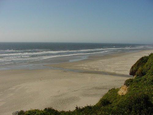 Beach seen from house. - Summer on the Oregon Coast! - South Beach - rentals