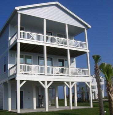 Back of House - BEACH HOUSE - STEPS TO BEACH! - Galveston - rentals