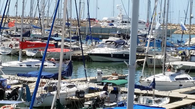 Marina appt. 50 + 10 sq.m. Balcony Yachts+Pool+Gim - Image 1 - Herzlia - rentals