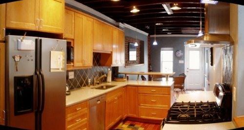 Kitchen - Convention Center, Camden Yards, Inner Harbor with - Baltimore - rentals