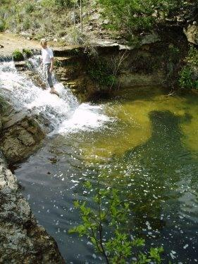 Waterfall Swimming Hole on the Creek - 5000 ac. Hill Country Ranch Vacation Home Rental - Boerne - rentals