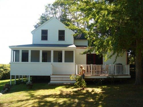 pond view - Gracious secluded home on the Point - Westport - rentals