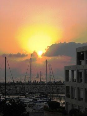 On the water one bedroom and living room in Marina - Image 1 - Herzlia - rentals