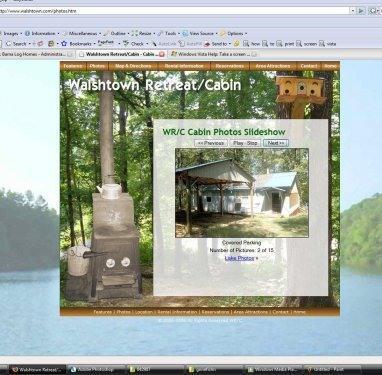 covered parking - mississippigetaway---rustic cabin on lake - Myrtle - rentals