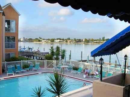 Pool - BEAUTIFUL CONDO ON THE SCENIC BOCA CIEGA BAY ! - Saint Pete Beach - rentals