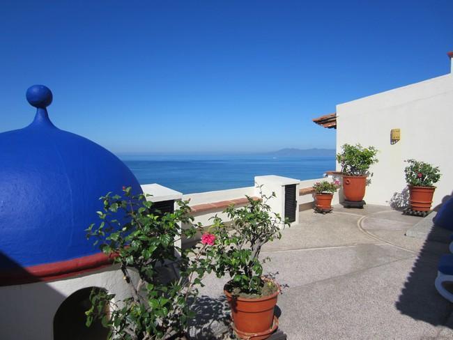 From the rooftop of Plaza Mar - Plaza Mar 306 on Los Muertos Beach (Oldt Town) - Puerto Vallarta - rentals