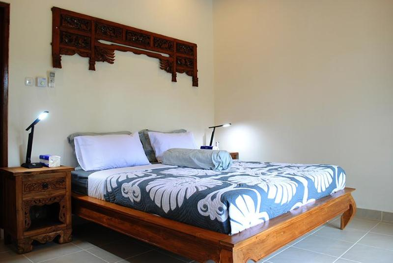 The master bedroom - Villa Indah - Magical valley views and privacy - Ubud - rentals