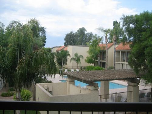 Balcony views - Newly Remodelled Condo in McCormick Ranch - Scottsdale - rentals