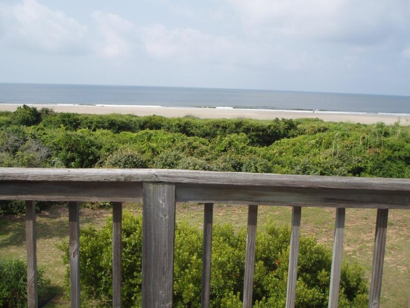 view from deck-south - Tranquility on Ocean Court-Caswell Beach NC - Caswell Beach - rentals