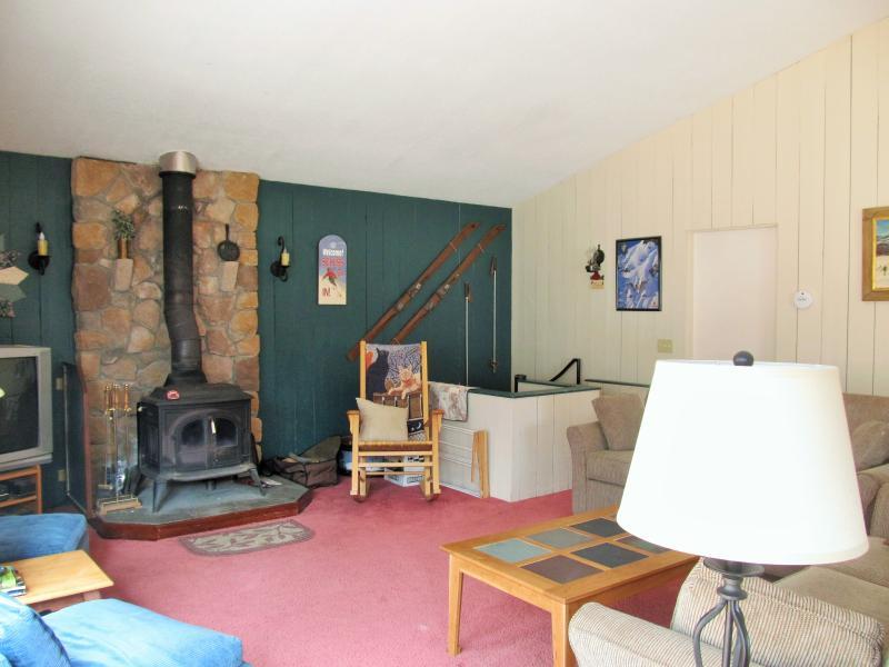 Upstairs Family Room - 4 Bedroom Slopeside Sugarbush house - Brookfield - rentals