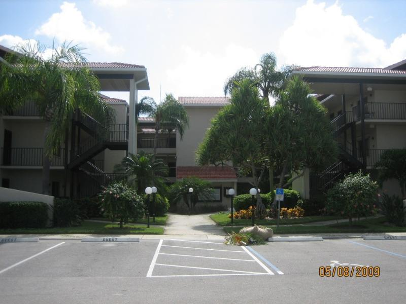 Outside of Condo Building - Lake View in Cinnamon Cove! Available Sept. - Dec. - Fort Myers - rentals