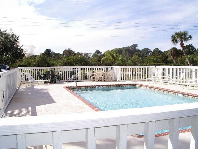 pool next to 1st floor unit - OVERLOOKING THE WILD LIFE PRESERVE - Rotonda West - rentals