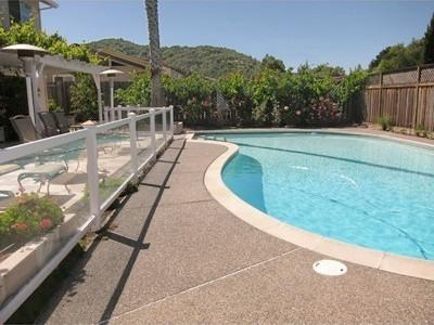 Backyard Pool has a Safety Fence - Marin Vacation Home with Pool, Near Sonoma and San - Novato - rentals