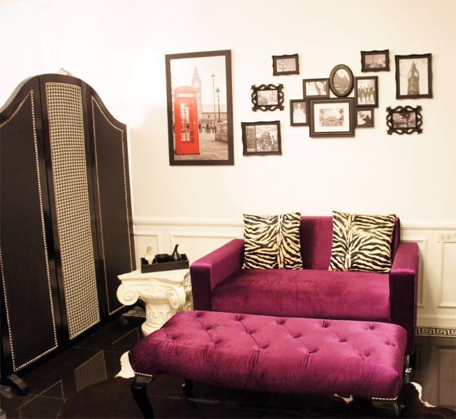 Modern Victorian Decor Condo for Rent Quezon City - Image 1 - San Jose - rentals