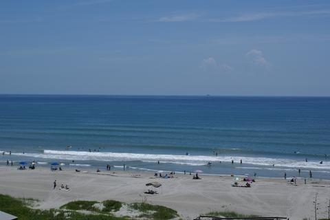 View from your PRIVATE Balcony.  Watch The Waves! - COCOA BEACH OCEANFRONT CONDO  $399/wk! - Cocoa Beach - rentals