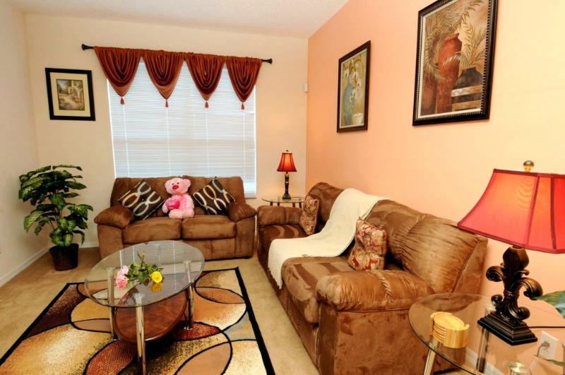 Living Room - Luxury, 5 Star Villa,South Facing Pool, Game etc. - Kissimmee - rentals