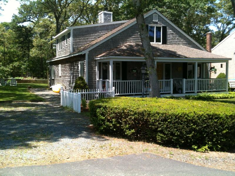 Front of house - 4BR/3B on bike trail / 100 yards from Long Pond - Harwich - rentals