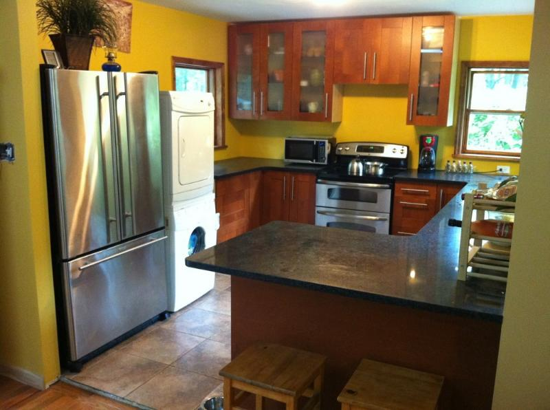 Kitchen picture #1 - Modern House w.Hot Tub, Sauna,WIFI and central AC - Albrightsville - rentals