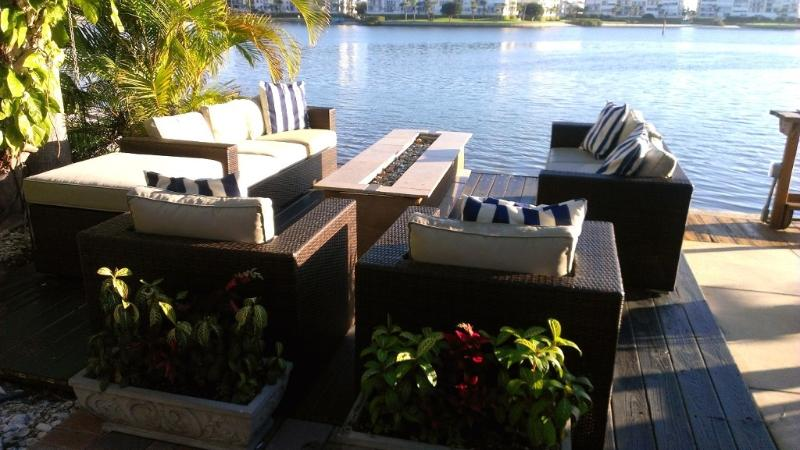 Modern Home, Dock and Hot Tub on Wide Water! - Image 1 - Saint Pete Beach - rentals