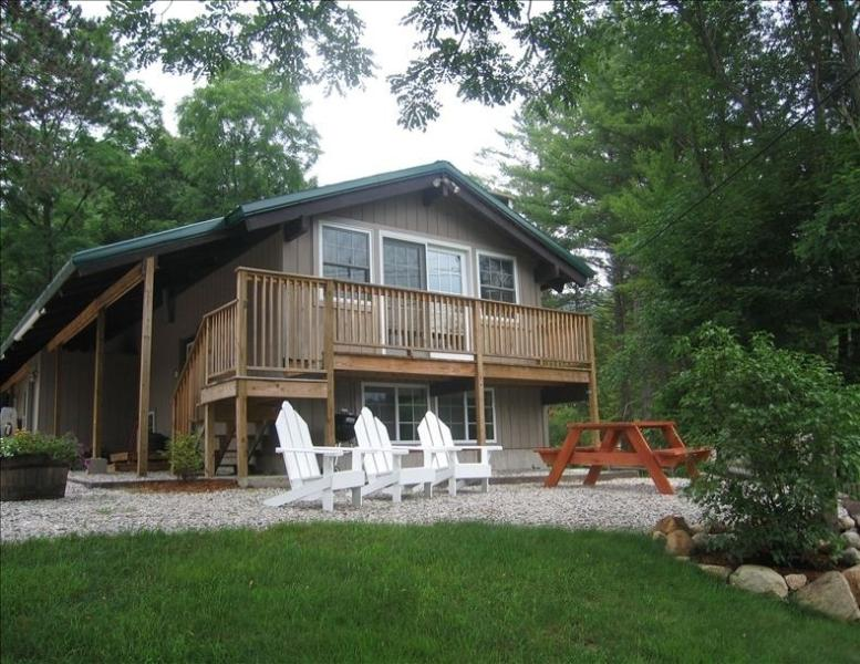 Updated Chalet Private Setting 5 Mi from Storyland - Image 1 - Intervale - rentals