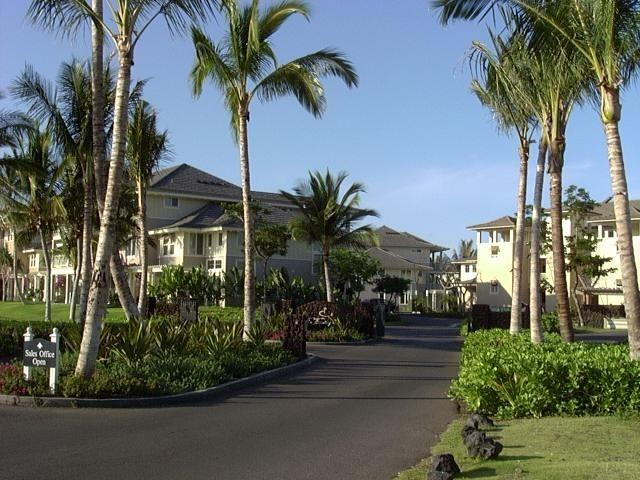 Entrance to the Fairway Villas - Lovely 2nd Floor Unit on Golf Course - Waikoloa - rentals