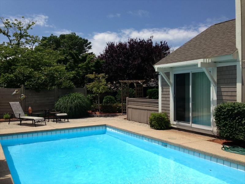Private pool and meditation garden - 10 Mashie Circle - New Seabury - rentals