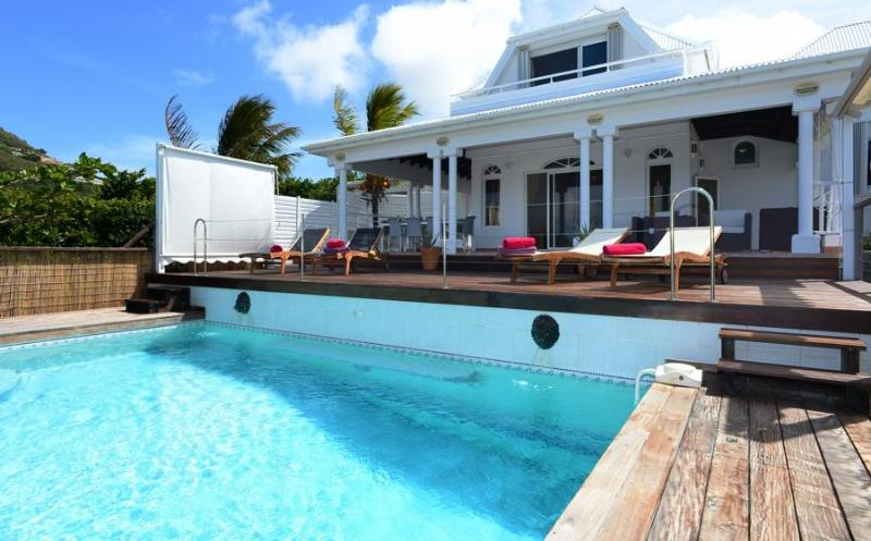 Blue Horizon at Camaruche, St. Barths - Ocean View, Spacious, Pool and Jacuzzi - Image 1 - Camaruche - rentals