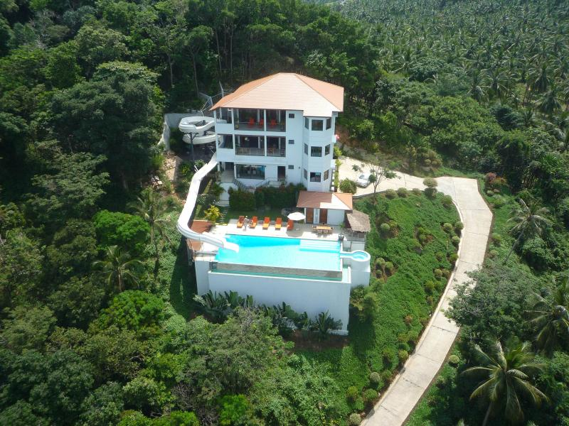 Areal Photo distant - Lulu's luxury Villa, Koh Samui, As seen on TV - Koh Samui - rentals