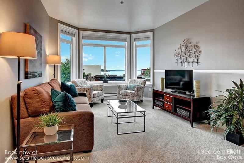 1 Bedroom ElIiott Bay Oasis! Walk to all the Sights! - Image 1 - Seattle - rentals
