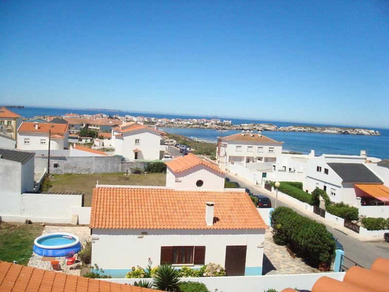 looking out from balconies - Baleal, Portugal Surfing Dreamers Townhouse - Baleal - rentals