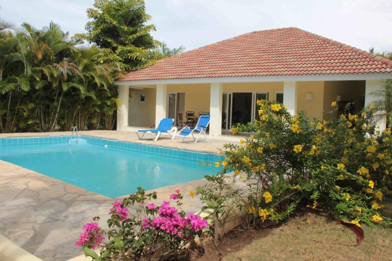 Overview of your luxury villa and pool - 2-bedroom luxury villa with pool in Sosua center - Sosua - rentals