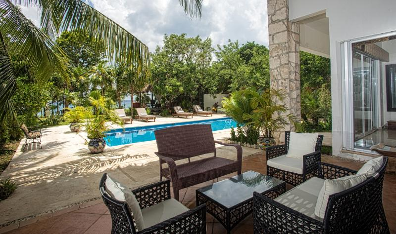 Villa Eden - private oceanfront retreat in Cozumel - Image 1 - Cozumel - rentals