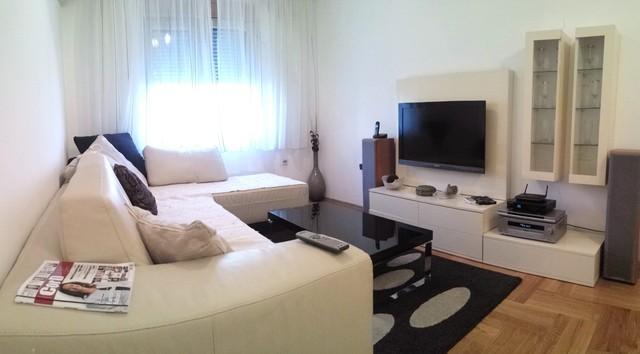 living room - Next to Rimski trg, 1bdr apartment - Podgorica - rentals