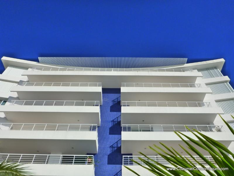 Oceanfront with full width balconies - A Luxurious Oceanfront Cozumel Condo,  Nah Ha 602 - Cozumel - rentals
