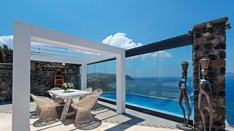 Cavo Ventus Villa -Romantic Villa in Santorini - Image 1 - Santorini - rentals