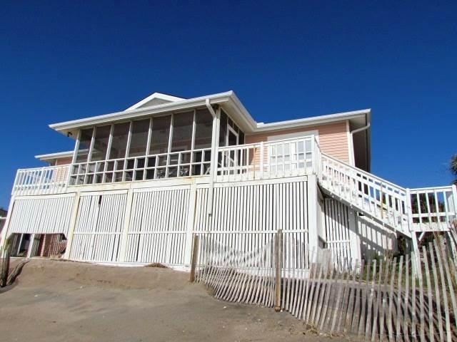 "204 Palmetto Blvd.- ""Sea Rock"" - Image 1 - Edisto Beach - rentals"
