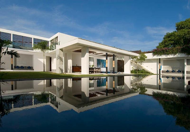 Villa & Pool view - Aqua, Luxury++ 4 bed Seminyak, Close to Beach - Seminyak - rentals