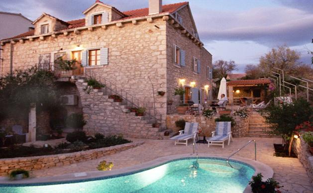 Traditional Dalmatian Villa with Pool and Sea View - Image 1 - Dalmatia - rentals