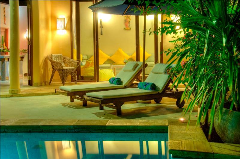 villa view - Elegant  2BR villa, Eat St, Central Seminyak - Seminyak - rentals