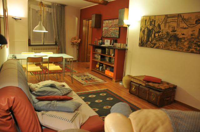 Living Rom - Cozy flat in historic centre up to 4 beds - Genoa - rentals