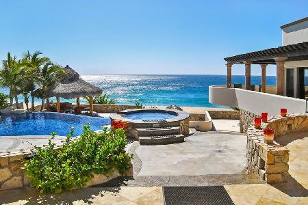 Beachfront Castillo Escondido- infinity pool- jetted tub & fire pit, near golf - Image 1 - San Jose Del Cabo - rentals