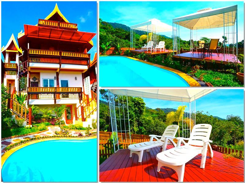 Villa Siam Lanna @ Golden Pool Villas = Stunning! - Image 1 - Ko Lanta - rentals