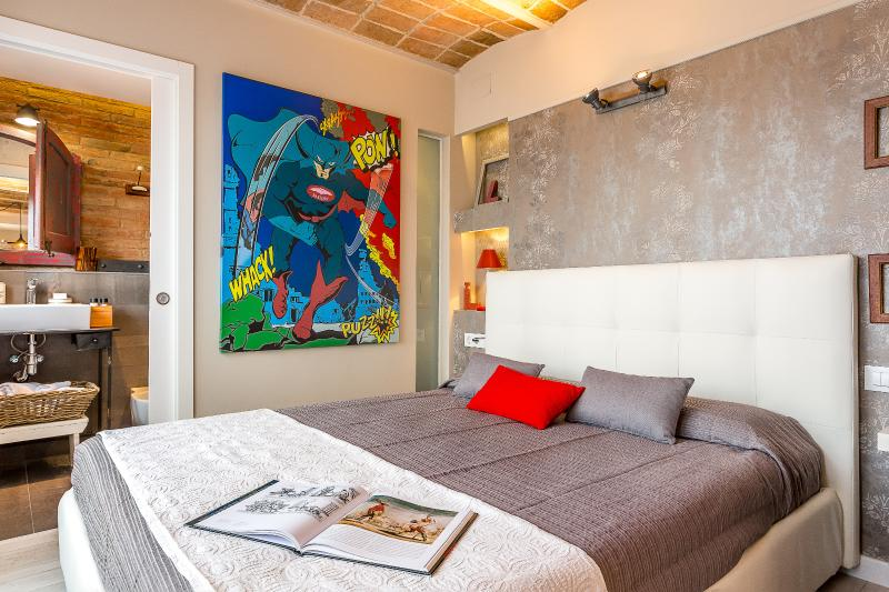 Bedroom with Closet - Penthouse Vintage Suite with terrace (5.3) - 15% OFF MAY STAY PROMOTION - Barcelona - rentals