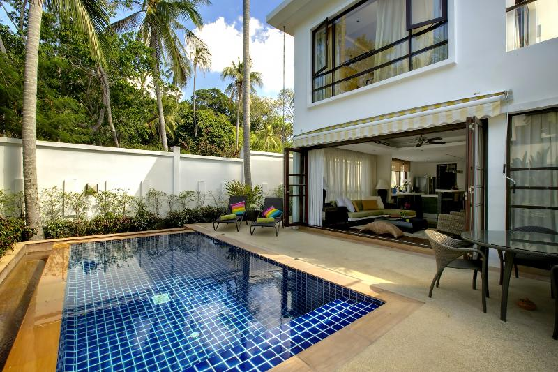 3-bedrm Contemporary Pool Villa at Beach Resort - Image 1 - Koh Samui - rentals