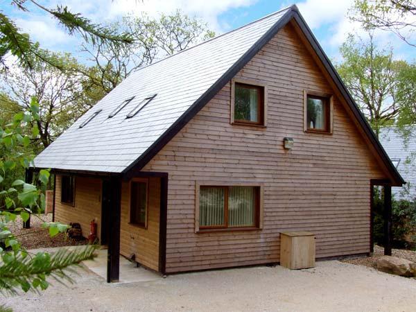 ELLASTONE, detached lodge near Alton Towers, woodland setting, own hot tub, Ref 913350 - Image 1 - Farley - rentals