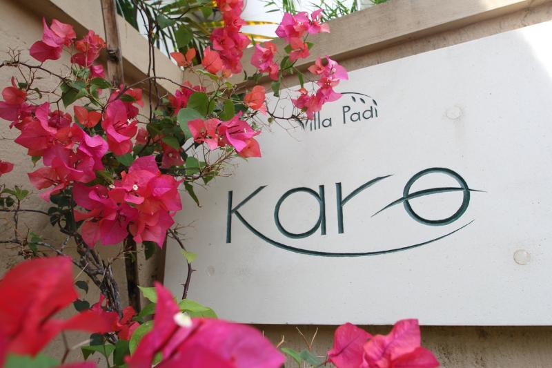 Logo - Villa Padi Karo - Cemagi - Bali - rentals