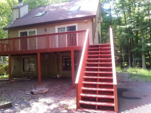 Front - VACATION IN MODERN 5 BR HOUSE. PROMS CONSIDERED. - Lake Ariel - rentals