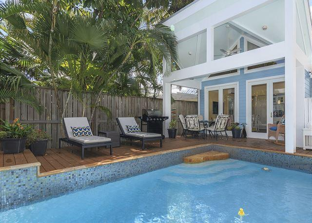 """CLUB CLARK"" Gorgeous 3 Bd 3 Bth Home w/ Pvt Pool. Close to Dante's! - Image 1 - Key West - rentals"