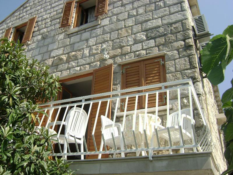 balcony of the apartment villa Andro - Villa ANDRO  - Cavtat,Croatia - Cavtat - rentals